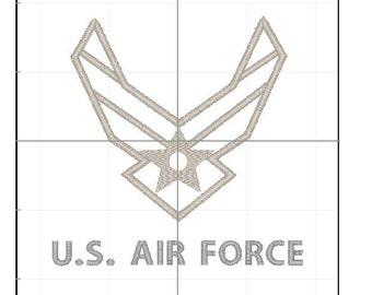 Air Force symbol  4x4 5x7 6x10