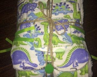 SALE-Large baby boy gift set- dinosaurs--Jenni
