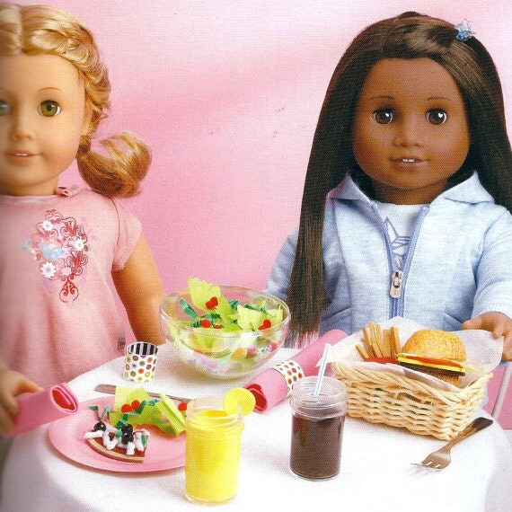 Kids craft kit creat a restaurant for american girl dolls for American girl craft kit
