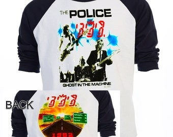 POLICE Ghost in the Machine 82 Tour T-755Blk