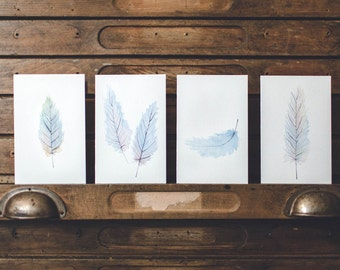 Feather - Greeting Cards