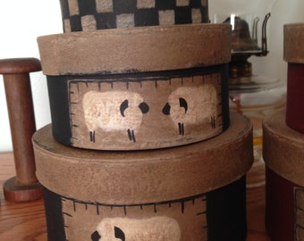 Sheep Stacking Boxes