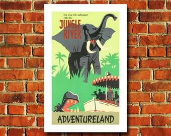 Disney Adventureland Poster - #0528