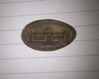 1904 St. Louis World's Fair Elongated Cent