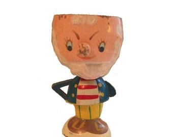 Vintage Wooden Egg Cup
