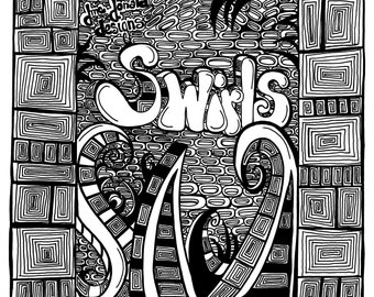 Coloring Book Collection - Swirls