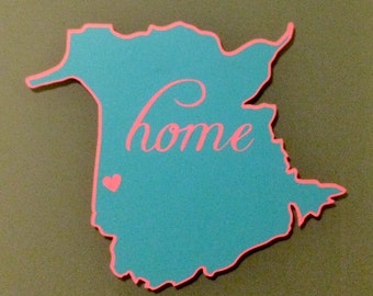New Brunswick Decal Outline 'Home'