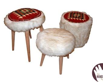 Handmade stools