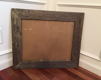 "Reclaimed Wood Picture Frame 16"" x 20"""