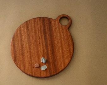 Mahogany Board with Handle