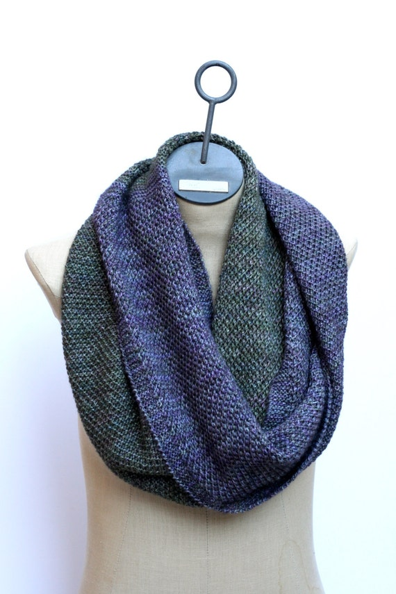 Knitting Pattern - The Ombre Cowl - Scarf Pattern ...