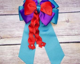 Disney Inspired Princess Ariel Bow