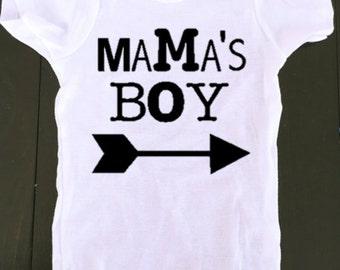 Mama's Boy - baby boy onesie