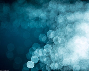 Abstract Bokeh Fine Art Print Download - Diffusion 012
