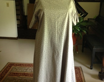 Cotton Dress for Renaissance/ Medieval or Costume