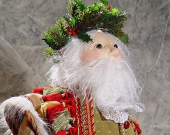 BS330E - Santa PDF Cloth Doll Sewing Pattern