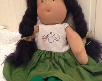 Waldorf style doll