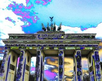 ART BERLIN - Brandenburger Tor - acrylic