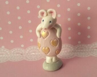 Mouse, Miniature mouse, bread dough,