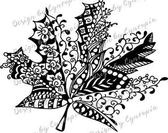 Maple leaf plot