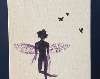 Minimalist fairy and butterflies 50% OFF!!!!