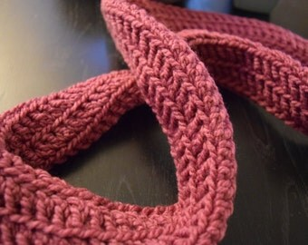 Pink Tube Cowl