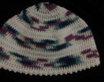 Winter Stripes Crochet Hat