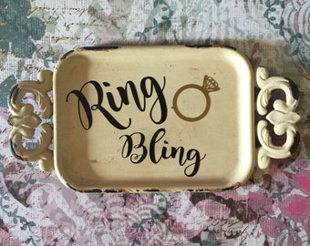 Personalized Ring Jewelry dish