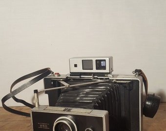 Rare Vintage Polaroid 250 Land Camera with Case