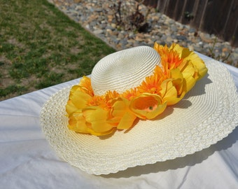 Tulips and Daisies Hat