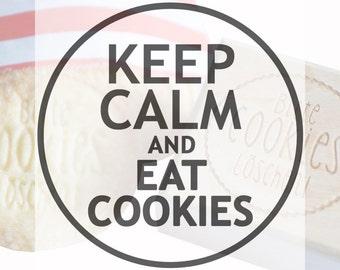 "Cookie stamp ""Keep Calm"""