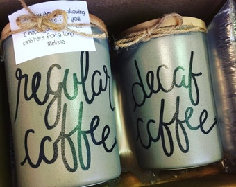 1 Coffee Canister