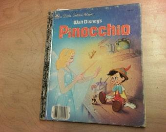 A Little Golden Book Walt Disney's Pinocchio