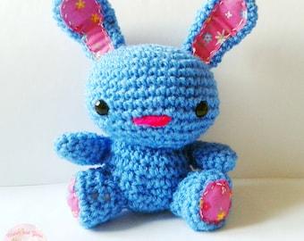 Crochet Bunny Rabbit, Easter bunny,Crochet Amigurumi bunny rabbit, cute crochet, kawaii crochet, bunny rabbit plush