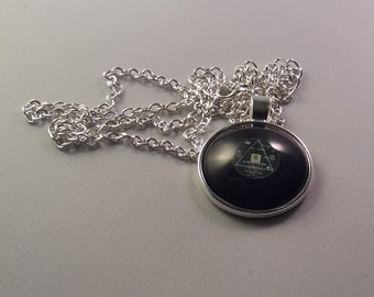 Pink Floyd Vinyl Necklace - Dark Side Of The Moon (FREE UK SHIPPING)