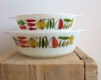 Milk glass dishes, vintage kitchen bowls,casserole dishes, J.A.J Made in England