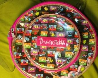 90s clear Tamagotchi backpack