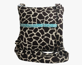 Giraffe Crossbody Bag // Sling Bag // Crossbody Purse // Shoulder Bag // Hipster