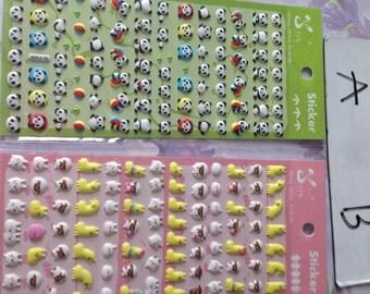 sticker super cute and soft 1 piece