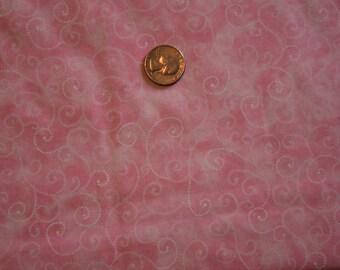 MODA FABRIC, MARBLE Swirls, Pink, 100% Cotton