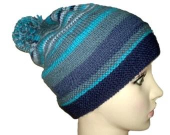 Alpaca hat with a tassel