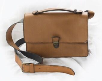 handbag, satchel shape, worn hand or shoulder