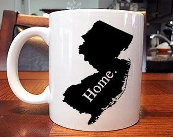 New Jersey Home Coffee Mug