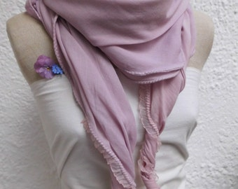 Cloth Clarissa ladies pink cotton with high end hand dyed