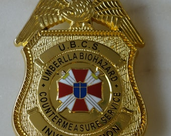 Badge Umbrella Corporation cosplay ASCB Resident Evil Badge