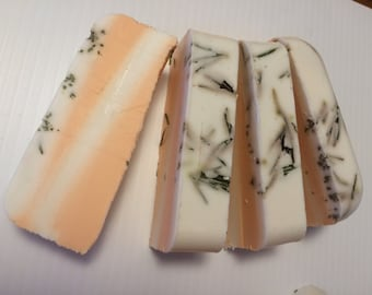 Homemade Rosemary Soap