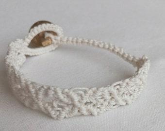 Macrame Bracelet, Woven Bracelet, Knotted Bracelet, Macramé Jewelry