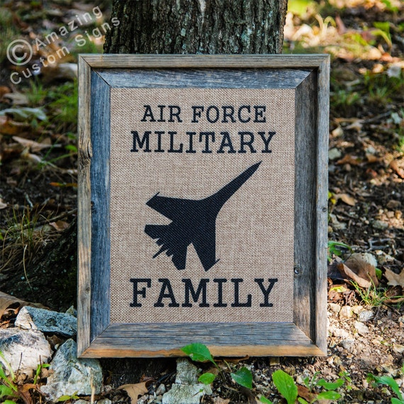 Military Home Decor Sign Air Force Military By