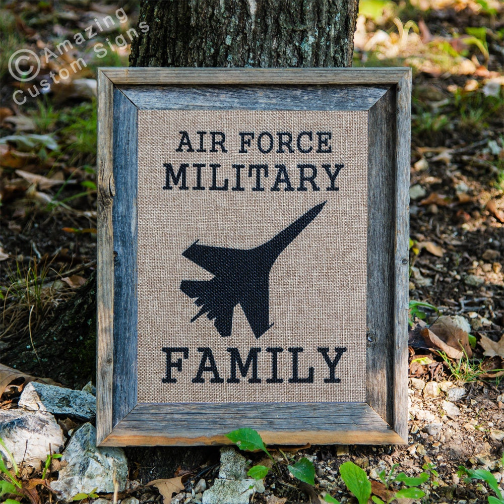 military home decor sign air force military by amazingcustomsigns