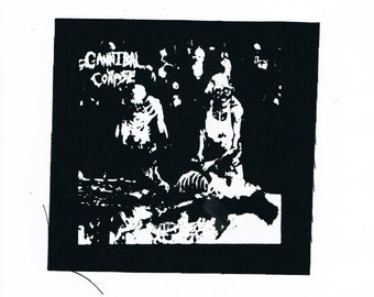 Cannibal Corpse Death Metal Band Patch Butchered at Birth Thrash Metal Black Metal Crust Punk Bands Patches